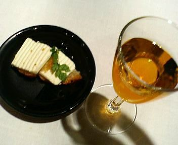 デザートと貴醸酒